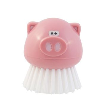 Joie Oink Oink Piggy Themed Kitchen Cleaning / Vegetable Scrubber Brush