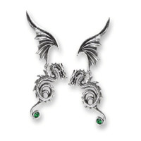 Alchemy of England – Bestia Regalis Earrings In Antique Silver | Thirteen Vintage