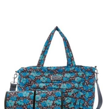 DCCKHB3 Marc Jacobs | Quilted Wildflowers Baby Bag & Changing Pad