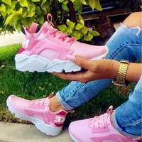 Nike Wmns Air Huarache Run Ultra Sports shoes pink H-AA-SDDSL-KHZHXMKH