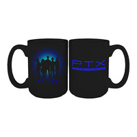 Pentatonix Official Store | Pentatonix On My Way Home Tour 2015 Silhouette Mug
