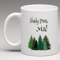 The Golden Girls Shady Pines Ma Coffee Mug Tea Cup Funny Silly Humor