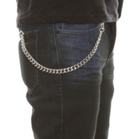 """Silver 12"""" Basic Wallet Chain"""