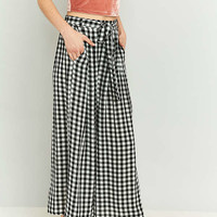 Light Before Dark Wide-Leg Culotte Pant | Urban Outfitters