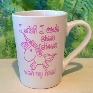 Unicorn coffee mug, Funny coffee mug, coffee mug, coffee cup, unique coffee mug, unicorn mug, unicorn gift