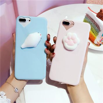 Fashion  Phone case for iPhone 6 cases 6S 7 Plus 5 5S SE For iPhone 7