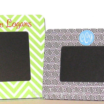Monogrammed Picture Frame - Personalized Picture Frame - Custom Frame