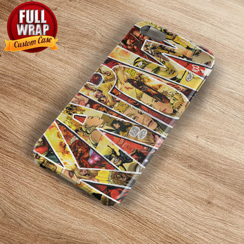 Kapow Comic Art Full Wrap Phone Case For iPhone, iPod, Samsung, Sony, HTC, Nexus, LG, and Blackberry