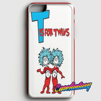 Thing 1 And Thing 2 iPhone 8 Case | casefantasy