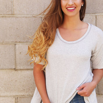 Tee Shirt Perfection {Gray}