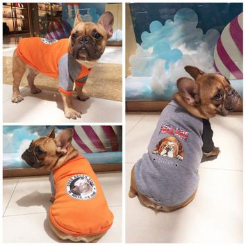 Winter Dog Clothes Pet Jacket French Bulldog Dog Clothing