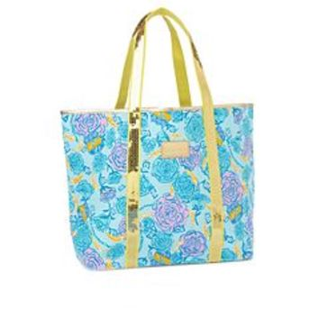 FINAL SALE - Sparkle Tote - Alpha Xi Delta - Lilly Pulitzer