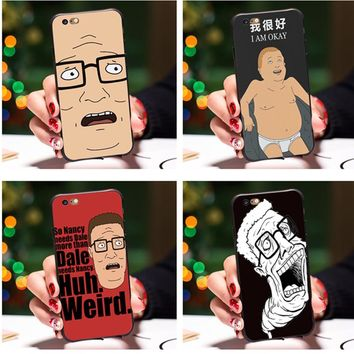 Smmnas For iPhone 8 iPhone X 7 Plus 6 6S Plus 5S Case king of the hill bobby Phone Cases For iPhone 8 7 6S 6 Plus 5S 5 SE Cover