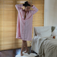 """Betty"" Luxury Pure Linen Nightgown"