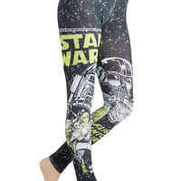 ModCloth Nifty Nerd Skinny The Empire Strikes Laid-Back Leggings