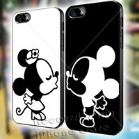Mickey and Minnie Kissing Couple Love iPhone Case Galaxy Case iPad Case HTC Case