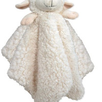 Stephan Baby Ultra Soft Cuddle Bud Blankie Lamb, Cream