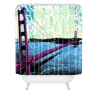 Amy Smith Golden Gate Shower Curtain