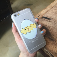 Hot Deal Stylish On Sale Hot Sale Cute Iphone 6/6s Lovely Apple Transparent Phone Case [6034145601]