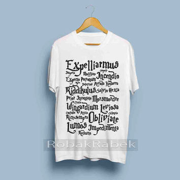 Expelliarmus Magic Spell harry potter  - High Quality Tshirt men,women,unisex adult