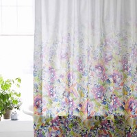 Esha Floral Shower Curtain - Urban Outfitters