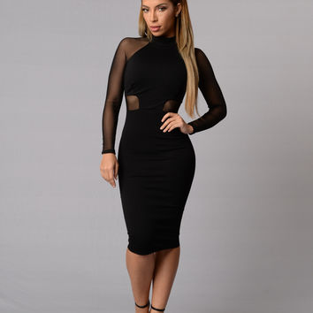 Sabine Dress - Black
