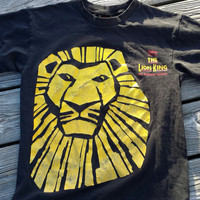 Vintage Disney's Musical The LION KING Broadway Musical - Lions Big Cats - SZ Adult Small