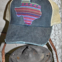 Serape ball cap