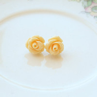 HoneyBelle - Beautiful Floral Earrings - Sterling -