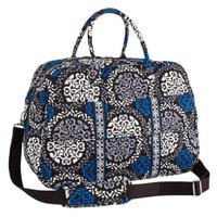 Vera Bradley Grand Traveler in Canterberry Cobalt NWT