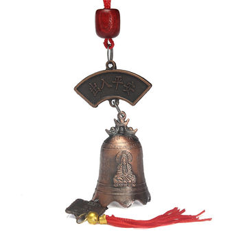 Hot Sale Vintage China's Tibetan Buddhism Goddess Of Mercy Buddhist temple feng shui bell Luck brass bells Metal Craft