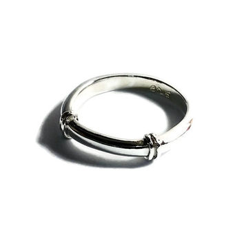 Mens silver ring, silver band ring, rings for men, sterling silver ring men, silver band, mens stackable wedding bands, mens statement rings