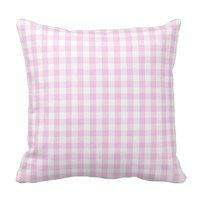 light pink and white gingam pattern preppy girly