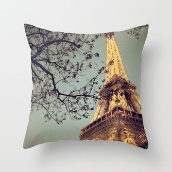 The Blue Hour Throw Pillow by Alicia Bock | Society6