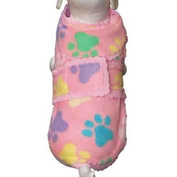 Pretty Paws Fleece Dog Jacket