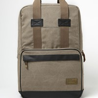 Hex Infinity Convertible Khaki School Backpack - Mens Backpacks - Tan - NOSZ