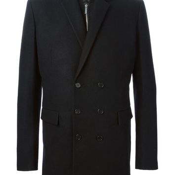 Juun.J layered double-breasted coat