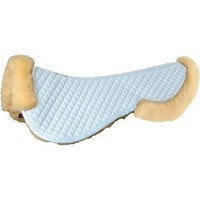 Roma Sheepskin Half Pad with Full Rolled Edges | Dover Saddlery