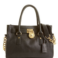 MICHAEL Michael Kors Handbag, Hamilton Gold Hardware East West Satchel - Satchels - Handbags & Accessories - Macy's