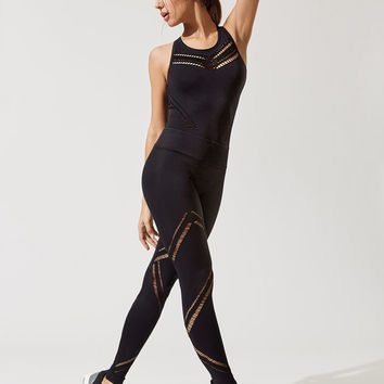 Divine Bodysuit Jumpsuit in Black