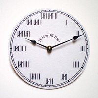 $17.00 Ticking Off Time by CyberMoon on Etsy