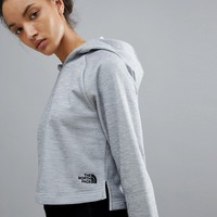 The North Face Women's NSE Tech Hoody in Grey at asos.com