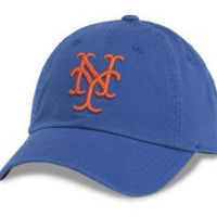 New York Mets MLB Baseball Cap One Size American Needle Cotton Twill Royal