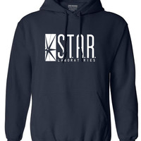 autumn brand hoodies superman series men hoody STAR S.T.A.R.labs jumper the flash gotham city comic books black sweatshirt