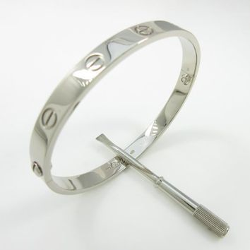 Authentic Cartier Love bracelet #260-002-374-5353