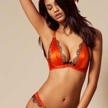 Kacie Brazillian Brief Orange