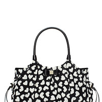 Kate Spade Renny Drive Nylon Stevie Baby Bag Black/Cream ONE