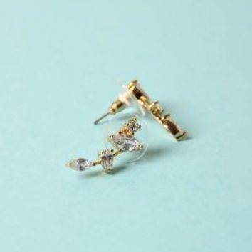 Stud Crawler Earrings