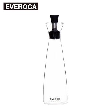 Transparent Glass Olive Oil Bottle Sauer Jar Stainless Steel Silicone Seal Heat Resistant 300ml 600ml
