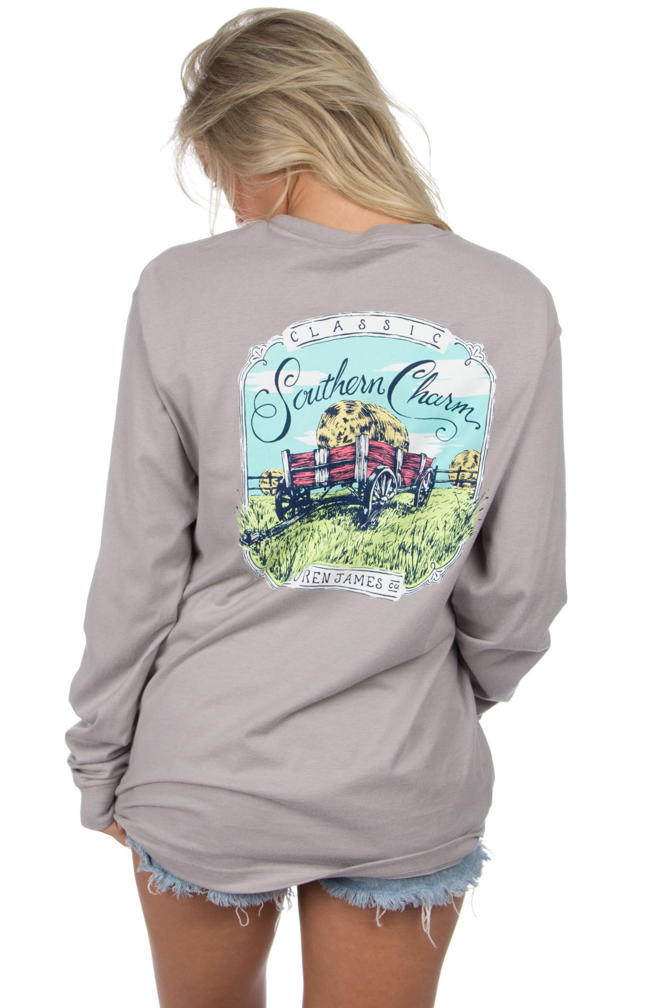 Lauren james classic southern charm from the fair lady for Simply for sports brand t shirts